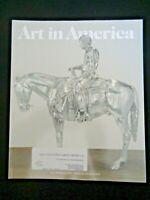 Art in America Magazine 2015 Albert Oehlen Stanya Kahn Charles Ray Horse Rider