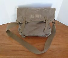 Vintage American Eagle Olive Green Messenger Shoulder Bag Primitive Hippy Retro