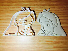 Alice in Wonderland disney Plastic Cookie Cutter Fondant Cake Decorating Cupcake