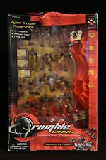 Rumble Wars Cyber Trooper Power Pack Toy Set 2001 Trendmasters NEW (Damaged Box)