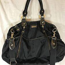 Storksak Diaper Baby  Bag Shoulder Hobo Handbag $210 Black olivia Large GUC