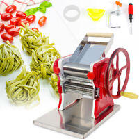 Commercial Noodle Machine Manual Fresh Pasta Noodle Maker Stainless Steel TOP