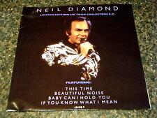 """NEIL DIAMOND - UK TOUR COLLECTORS EP  7"""" VINYL PS"""