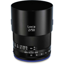 Zeiss Loxia 50mm F2 Prime Lens: Sony And Mount Full Frame - EX-DEMO