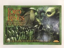 WARHAMMER THE LORD OF THE RINGS FELLOWSHIP OF THE RING BOXED GAME NEW ON SPRUE