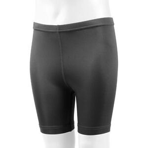 Childs Black Spandex Exercise Compression Short Kids Shorts Made in USA