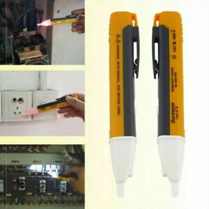 LED tester Voltage electricity volt mains detector circuit test pen  torch pocke
