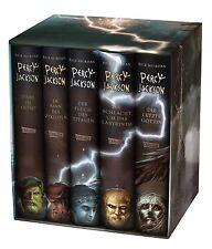 Percy Jackson Schuber 5 Hardcover Bände + BONUS