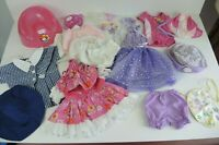 Baby Born Doll Clothes & Accessories Fairy potty School Uniform 20+