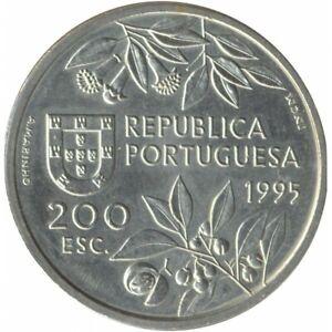 PORTUGAL 200 ESCUDOS 1995 TTB+