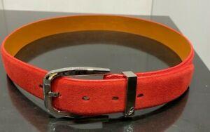 BRIONI Handmade Suede Belt Size L (100% Authentic & New)