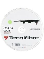 Tecnifibre Black Code Lime 1.24mm 200m 660ft 17gauge Tennis String Poly Reel