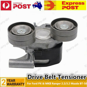 For Ford PX & MKII Ranger 2.2/3.2 Mazda BT-50 Drive Belt Tensioner & 2 Pulleys