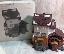 Department 56 Alpine Village Series Stoder Grist Mill� Lighted House W/Box 59536