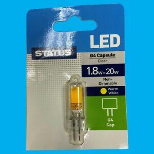 6x 1.8W (=20W) G4 12V Capsule LED Low Energy Light Bulb Lamp Halogen