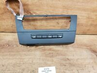 ✅OEM BMW E90 E92 Front CIC Dash Trim Center Radio Trim Panel Heated Seats SWITCH