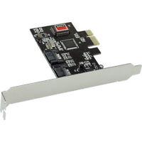 InLine PCI Express Karte - 2x SATA II, RAID 0,1, PCIe