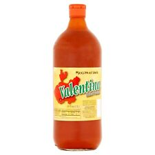 NEW SEALED MEXICAN VALENTINA HOT SAUCE PICANTE 34 OZ FREE WORLDWIDE SHIPPING