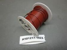 Alpha Wire 1557 16 AWG Coated CU .016 PVC 100' Brown Wire