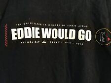 Eddie Would Go T Shirt Quicksilver