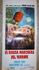 edgar allan poe   ! vincent price c lee 2 affiches cinema horreur epouvante