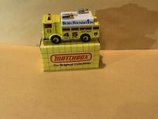 Colorcomp Matchbox No. 57 Auxiliary Power Truck Code 2  See Description