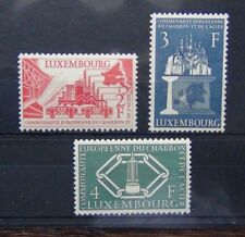 More details for luxembourg 1956 european coal and steel community set mnh