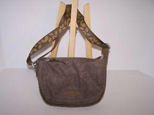 Keen Montclair Mini Messenger Bag Casual Hiking Travel Crossbody Purse Brown