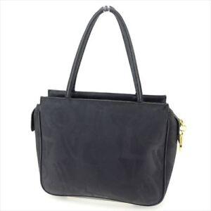 Salvatore Ferragamo Tote bag Ganchini Black Woman Authentic Used T8942