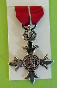 MEDALS>REPLICA>MBE KNIGHTHOOD MEDAL WITH RIBBON<