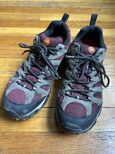 Merrell Men's Light Hiking Shoes Low-Rise US sz 10 Sand and Magenta