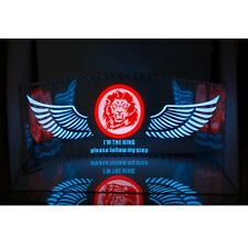 "35.4"" Lion Car Music Rhythm Light LED Sticker Sound Activated Equalizer 90*25cm"