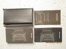 2002 - 02 JEEP LIBERTY USER OWNER MANUAL HANDBOOK GUIDE INFORMATION BOOK