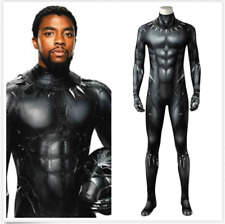 Black Panther T'Challa Cosplay Costume Wakanda King Jumpsuit Outfit