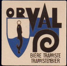 ORVAL - TRAPPIST BEERCOASTER FROM BELGIUM  SE17054