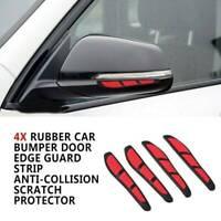Hot! Red Car Door Edge Guard Strip Scratch Protector Anti-collision Trim Sticker
