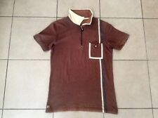 FILA     Casual  Polo Top     Brown    Size M