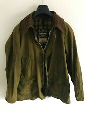 Mens Barbour Bedale wax jacket Green coat 42 in size Medium / Large #6 M/L