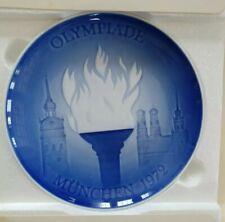 Bing Grondahl B&G Copenhagen Porcelain Olympiade Munchen 1972 8000/9472