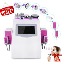 6in1 Ultrasonic RF Radio Cavitation Frequency Vacuum Cellulite Removal Fat Loss