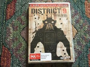 District 9, 2 disc Restricted Edition, DVD