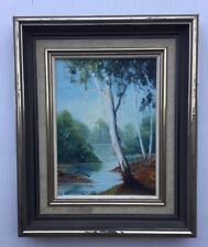 Lu Suttleworth 83 Framed Oil Painting