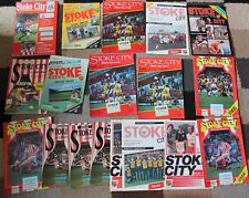 More details for bundle of stoke city fc football programme's x18 1980-1995