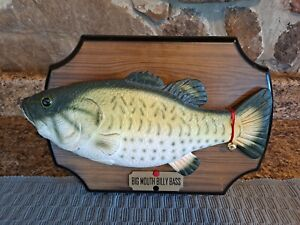 Vintage Big Mouth Billy Bass Christmas Holidays Singing Fish 1999 Gemmy TESTED!