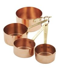 Stephanie Alexander Copper Measuring Cups Set of 4