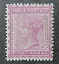 nystamps British India Stamp # 44 Mint OG H $33