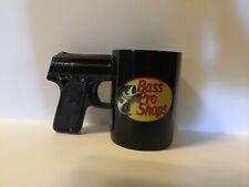 Bass pro shops coffee mug with gun handle