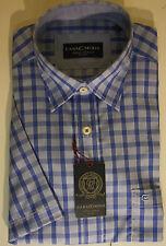 Karierte CASAMODA Kurzarm Herren-Freizeithemden & -Shirts aus Baumwolle