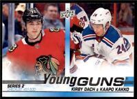 2019-20 Series 2 Base Young Guns #500 Kirby Dach/Kaapo Kakko CL