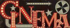 PELA studio: Movie lights i COMPLETO - 20x50 Immagine Muro Immagine Cinema Film
